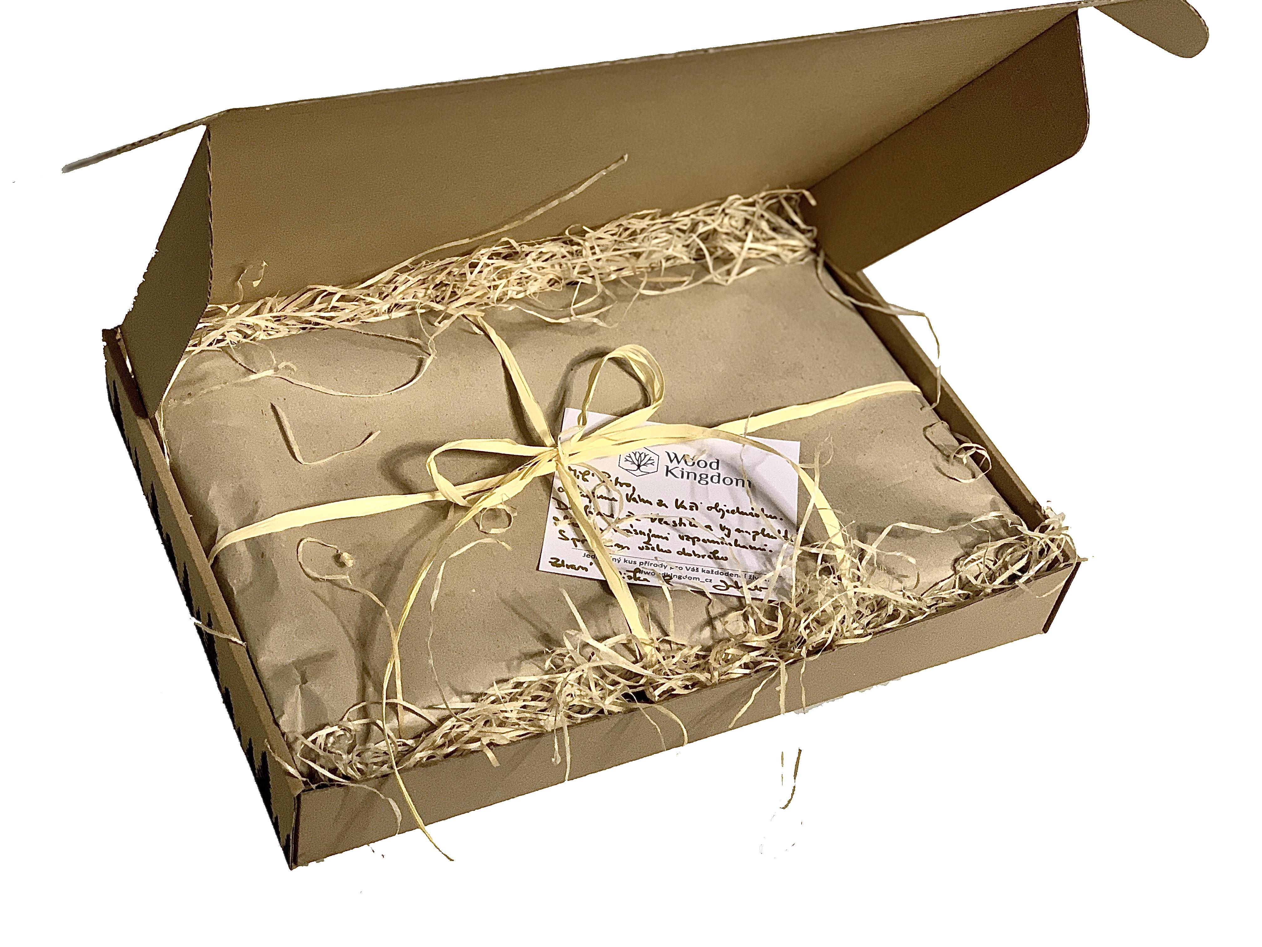 Dárková krabička-otevřená